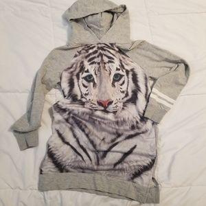 Girls hoodie sweatshirt dress